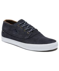 Lakai Camby Mid Navy Suede Men's Shoes