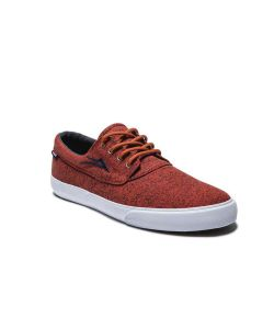 Lakai Camby Orange Canvas Men's Shoes