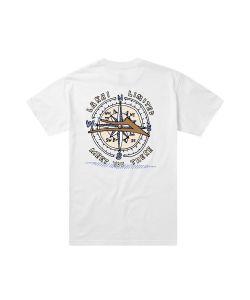 Lakai Capps Compass White Ανδρικό T-Shirt