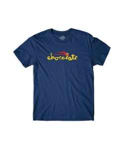 LAKAI CHOCOLATE FLARE NAVY TSHIRT