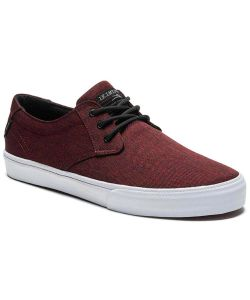 Lakai Daly Burgundy Textile Men's Shoes
