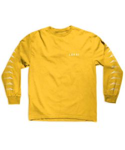 Lakai Flared Gold Men's Long Sleeve T-Shirt