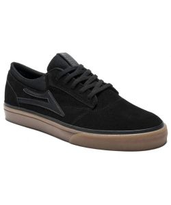 Lakai Griffin Black Gum Suede Men's Shoes