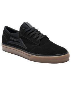 Lakai Griffin Black Gum Suede Ανδρικά Παπούτσια