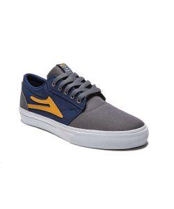 Lakai Griffin Blue/Grey Canvas Men's Shoes
