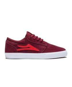 Lakai Griffin Burgundy Suede Men's Shoes
