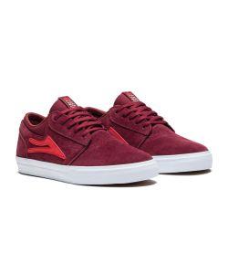 Lakai Griffin Burgundy Suede Men's Shoes