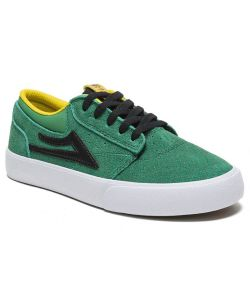 LAKAI GRIFFIN KIDS GREEN BLACK SUEDE SHOES