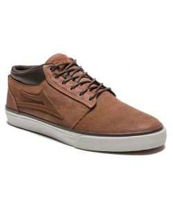 Lakai Griffin Mid All Weather Brown Suede Men's Shoes