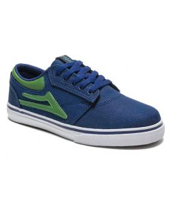 LAKAI GRIFFIN NAVY CANVAS KIDS SHOES