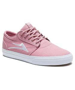 Lakai Griffin Text Pink Canvas Men's Shoes