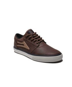 Lakai Griffin Weather Treated Brown Oiled Suede Men's Shoes