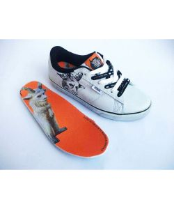 LAKAI HOWARD SEL WHITE LEATHER ΠΑΠΟΥΤΣΙΑ