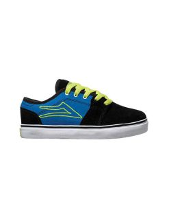 LAKAI JUDO BLACK/BLUE KIDS SHOES