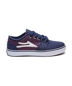 LAKAI JUDO NAVY CRACKLE KIDS SHOES