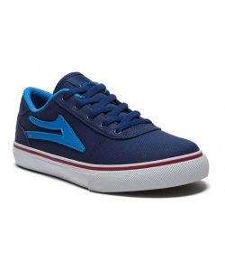LAKAI MANCHESTER NAVY CANVAS KIDS SHOES