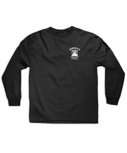Lakai Manchild's Bounty Hunter Black Men's Long Sleeve T-Shirt