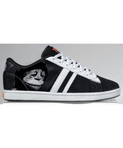 Lakai MJ3 Black White Men's Shoes