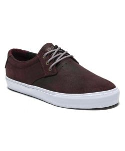 Lakai MJ Weather Treated Mahogany Oiled Suede Men's Shoes