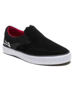 Lakai Owen Black Red Suede Kid's Shoes