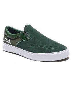 Lakai Owen Kid's Green Suede Kid's Shoes