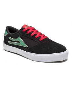 LAKAI PICO BLACK/MINT SUEDE KIDS SHOES