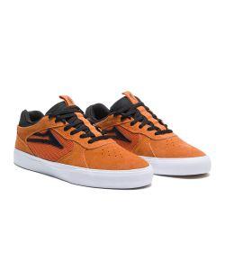 Lakai Proto Vulc Burnt Orange Suede Men's Shoes
