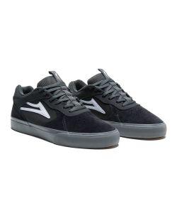 Lakai Proto Vulc Charcoal Suede Men's Shoes