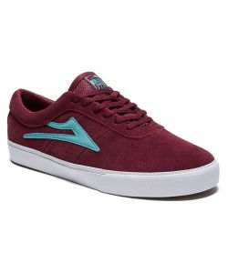 Lakai Sheffield Burgundy Suede Men's Shoes