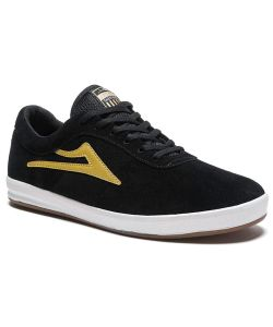 LAKAI SHEFFIELD XLK BLACK/GOLD SUEDE ΠΑΠΟΥΤΣΙΑ