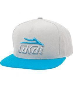Lakai Tonal Snapback Cyan Silver Καπέλο