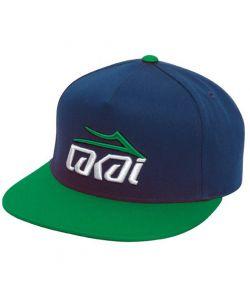 Lakai Tonal Snapback Green/Navy Καπέλο