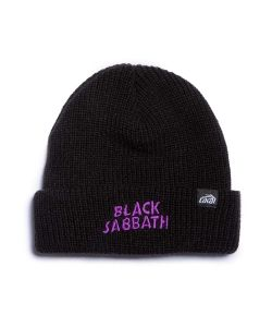Lakai X Black Sabbath Black Beanie