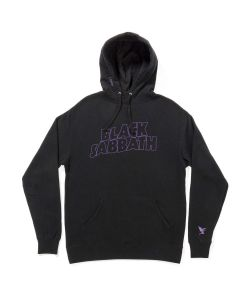 Lakai X Black Sabbath Master Of Reality Black Men's Pullover Hoodie
