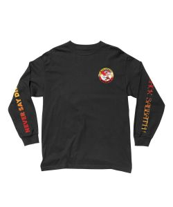 Lakai X Black Sabbath Never Say Die Black Men's Long Sleeve