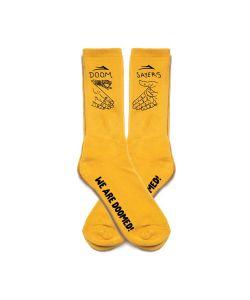 Lakai X Doomsayers Crew Yellow Κάλτσες