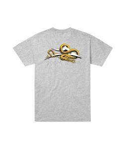 Lakai X Doomsayers Flare Snake Heather Grey Ανδρικό T-Shirt