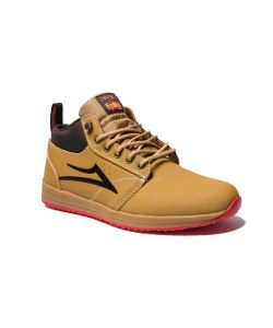 Lakai X Epmd Griffin Mid Gold Nubuck Men's Shoes