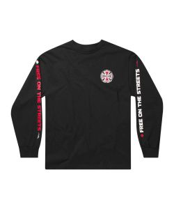 Lakai X Independent Indy Black Men's Long Sleeve T-Shirt