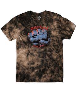 Lakai X Motorhead Iron Fist Bleached Black Ανδρικό T-Shirt