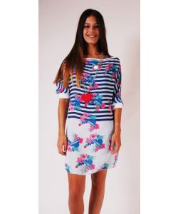 LIGHTNING BOLT FLORAL GIRLY TUNIC SURF THE WEB ΦΟΡΕΜΑ