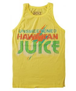 Lightning Bolt Juice Yellow Cream Men's Tank