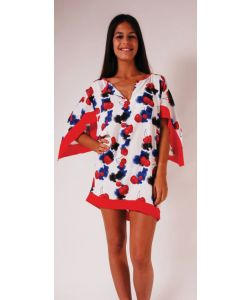 LIGHTNING BOLT JUICY TUNIC POPPY RED ΦΟΡΕΜΑ