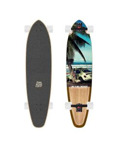 Long Island Beetle 37.8 Kicktail Cruiser Longboard