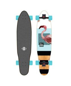 Long Island Flemish 38'' Kicktail Longboard