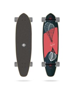 Long Island Leaves Kicktail 37.85'' Longboard