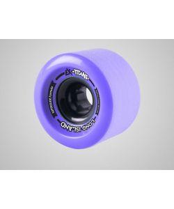 Long Island Titans Purple 70x 38 Ρόδες Longboard