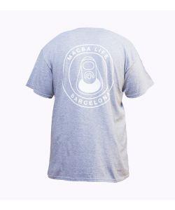 Macba Life Og Logo Heather Grey Men's T-Shirt