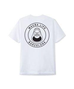Macba Life OG Logo White Men's T-Shirt