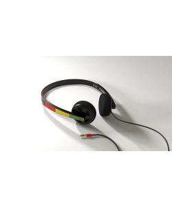 MATIX BULKHEAD RASTA HEADPHONES